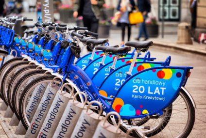 W nowej apce Citi Handlowy Bikes sprawdzicie, jak jazda na rowerze przyczyniła się do zachowania lepszej jakości powietrza
