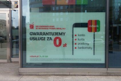 Taniej w mBanku. Bank wprowadził nowy cennik