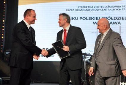 Bank Polskiej Spółdzielczości nagrodzony tytułem Złoty Żuraw Rolnictwa