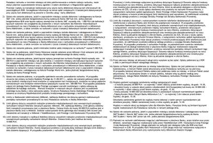 278 przypisów na 62 stronach. Tak wyglądają cenniki banków