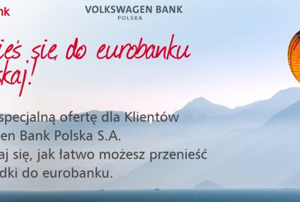 Klienci Volkswagen Banku mogą skorzystać z konta Active w eurobanku. Przez rok za darmo, ale później…