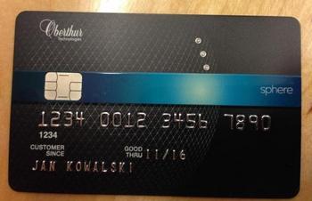 Karta Z Diamentami Oberthur Technologies Zdobi Rynek Kart