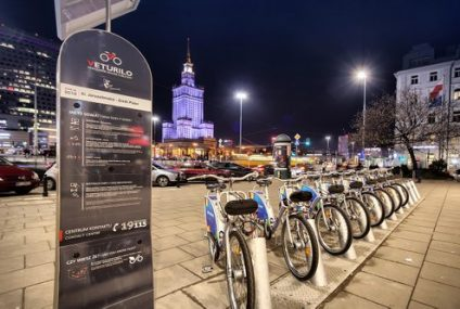 Blikiem można doładować konto Nextbike na stacjach rowerowych