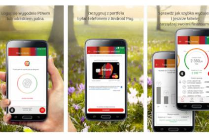 Nowa aplikacja mobilna z funkcją płatności Android Pay od mBanku