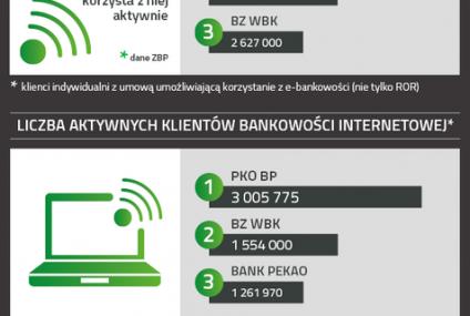 Polska bankowość w liczbach [infografika] - rok 2013