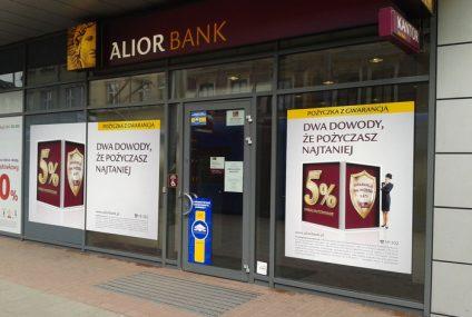 Alior Bank partnerem Tarczy Finansowej PFR. Bank umożliwi klientom składanie wniosków o subwencje
