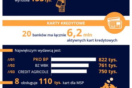 Polska bankowość w liczbach - II kw. 2016 r. [INFOGRAFIKA]