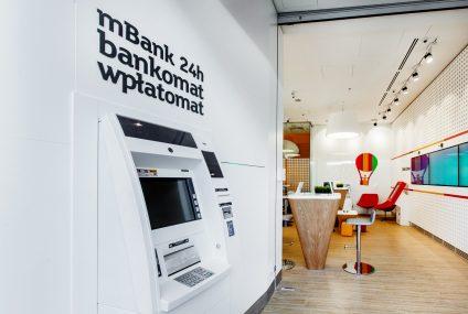 mBank wprowadza opłatę za korzystanie z wpłatomatów Euronet