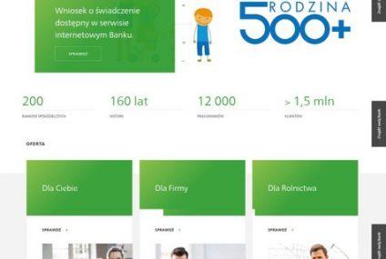 Nowa strona internetowa Banków Spółdzielczych z Grupy SGB