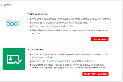 Profil Zaufany jest już dostępny w bankowości internetowej Banku Zachodniego WBK