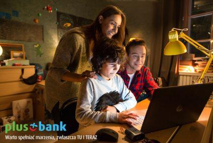 Pierwsza kampania telewizyjna reklamująca produkt PlusBanku