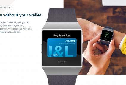 Wraca pomysł na zegarki do płatności. Fitbit Ionic będzie posiadał system Fitbit Pay