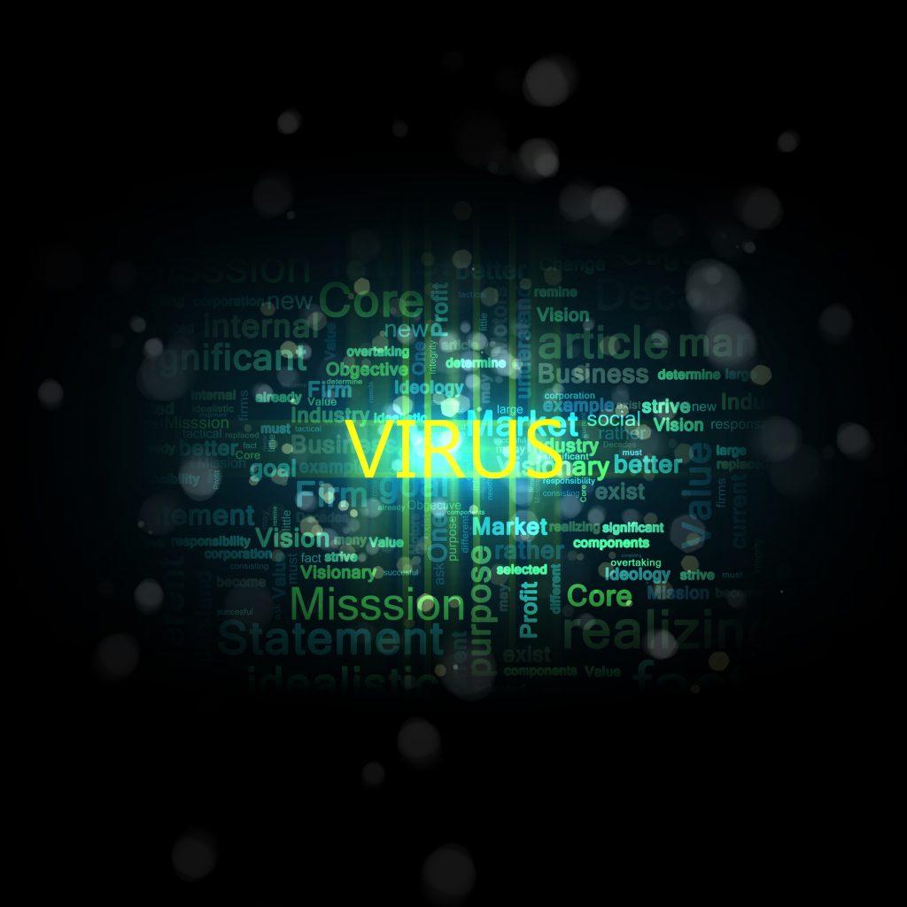 wirus, haker, virus