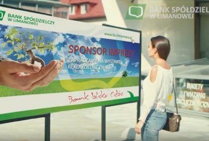 Nowy spot reklamowy Banku Spółdzielczego w Limanowej