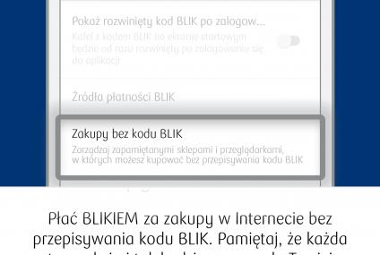 One click Blik w PKO BP. Od teraz możecie robić zakupy internetowe szybciej