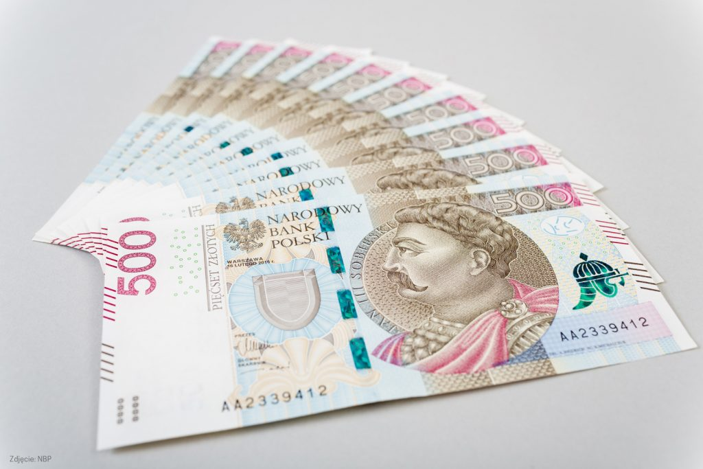 pieniądze, 500 zł