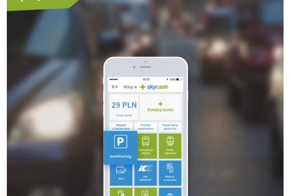 ZDM przedłużył umowę ze SkyCash na parkowanie w Warszawie