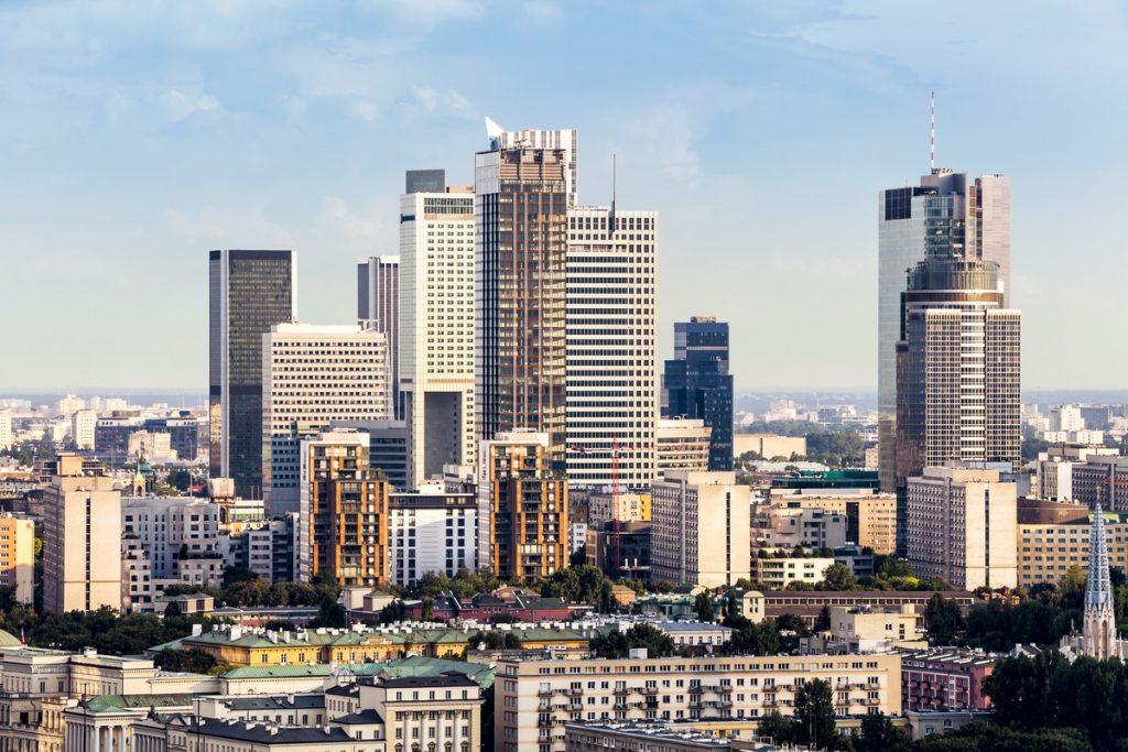 Warszawa, miasto, budynki