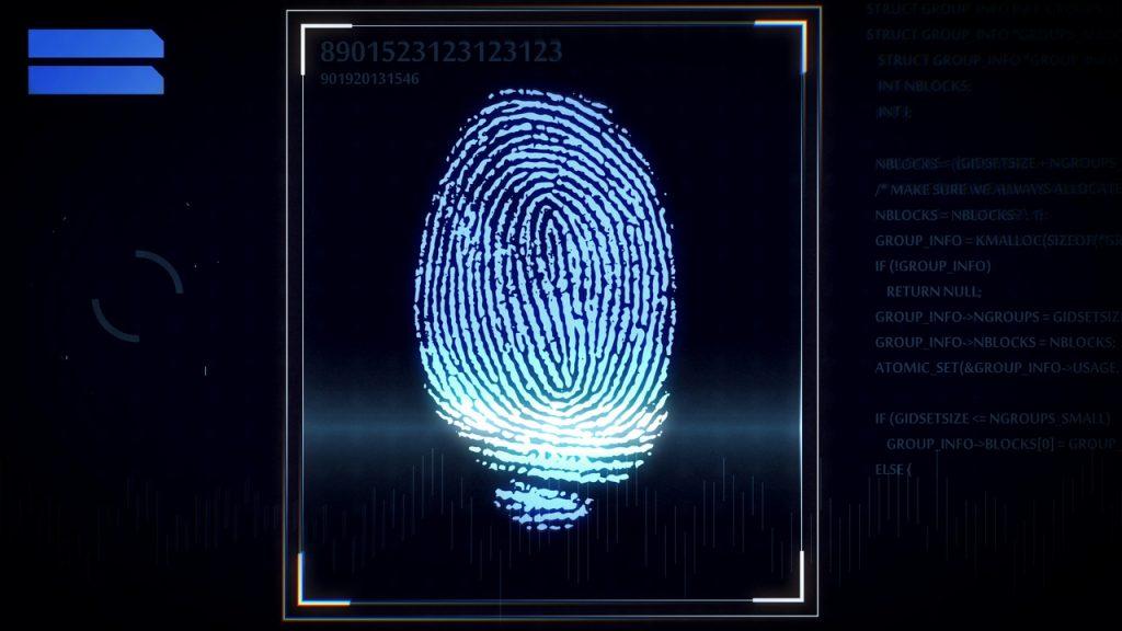 biometria, odcisk palca, innowacje, technologia