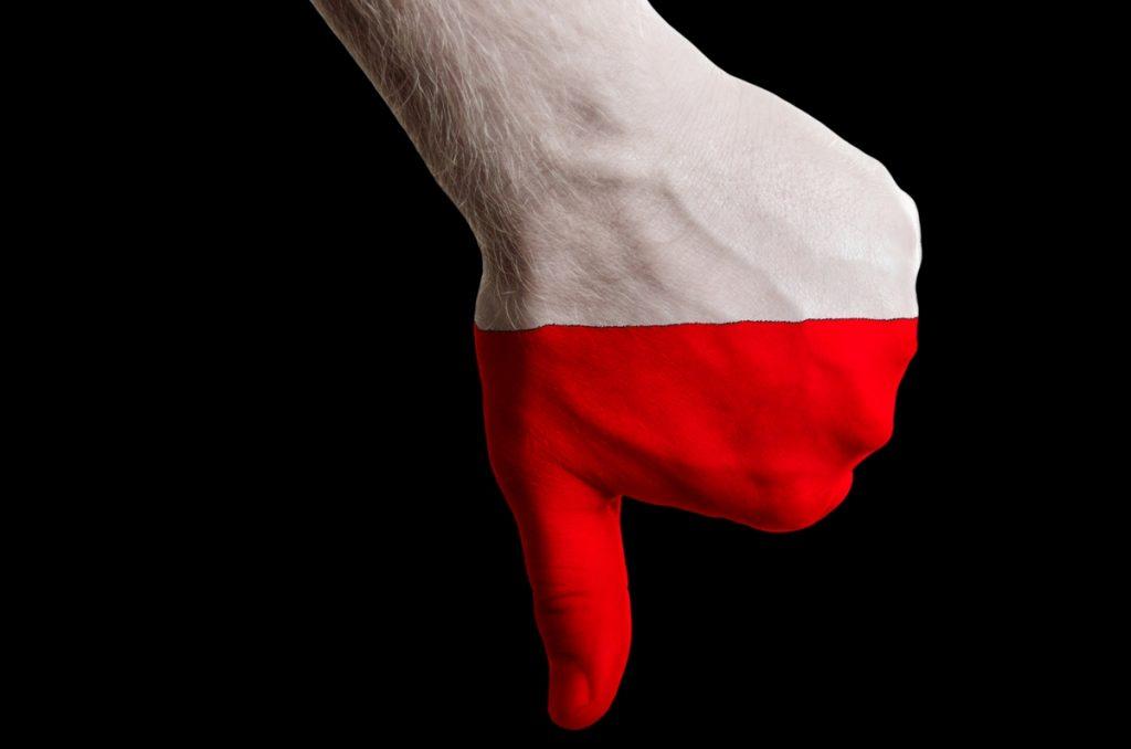 kciuk, polska