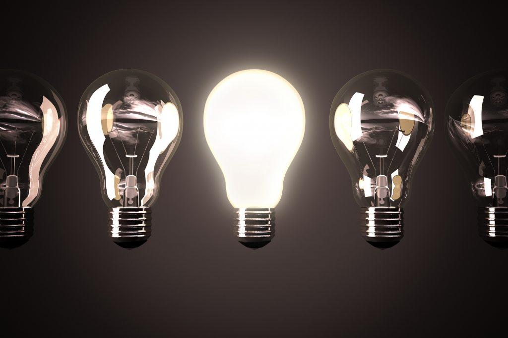 żarówka, innowacje, technologie
