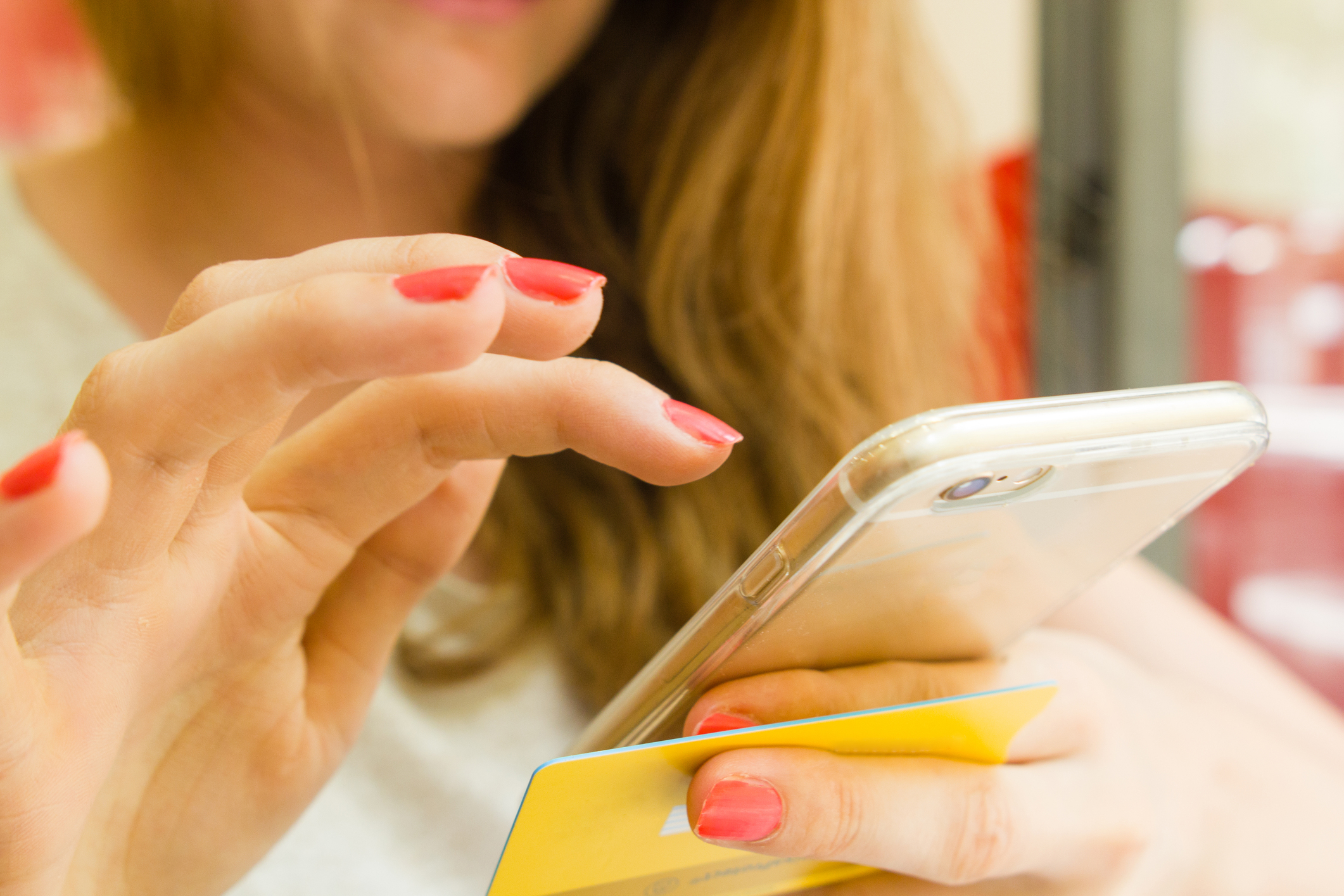 telefon, bankowość mobilna