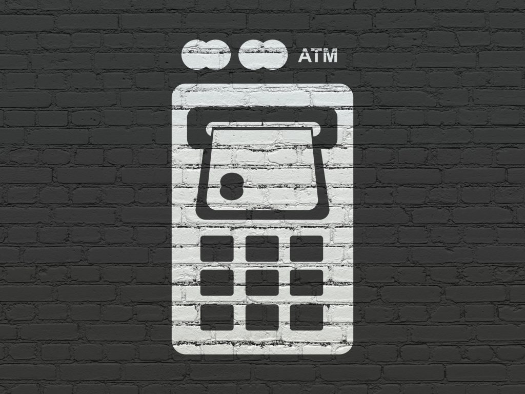 bankomat, karta