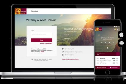 Alior Bank udostępnił nową bankowość internetową i mobilną wszystkim klientom