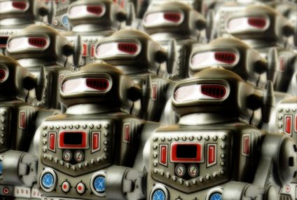 Bank ratuje się robotami przed piekłem RODO