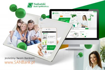 Spółdzielczy SANBank uruchomił nową stronę internetową w RWD