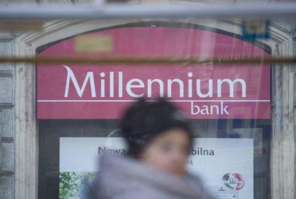 Millennium odda klientom niesłusznie pobrane pieniądze