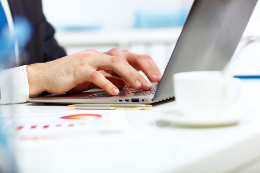 komputer, praca, biuro