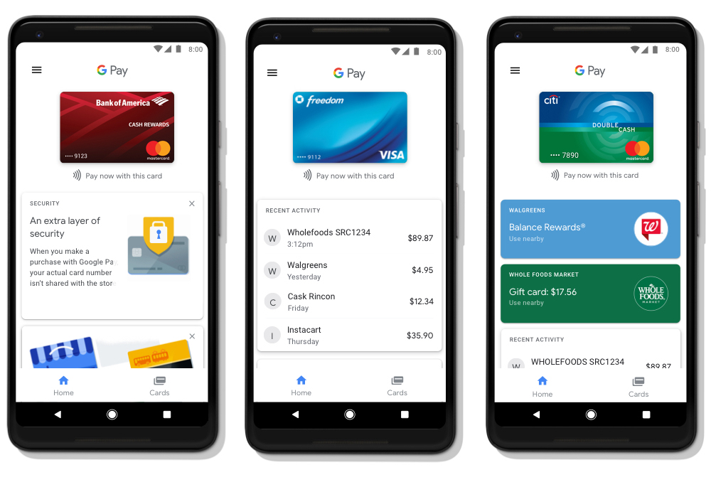 google pay zastępuje android pay