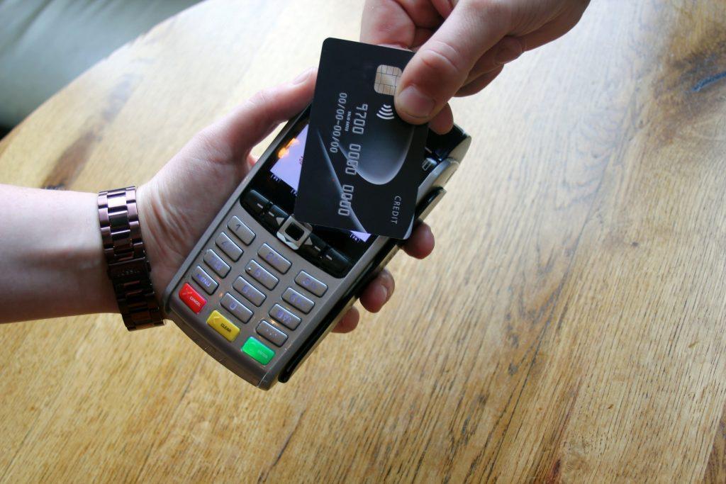 karta, pos kart kredytowych