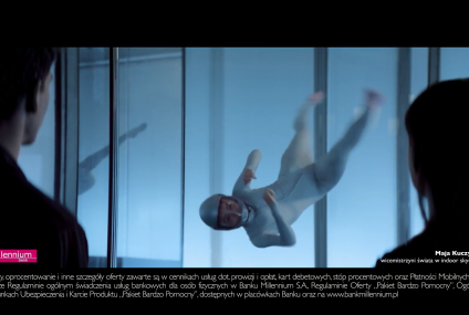 Maja Kuczyńska, wicemistrzyni świata windoor skydivingu, reklamuje Konto 360˚ [wideo]