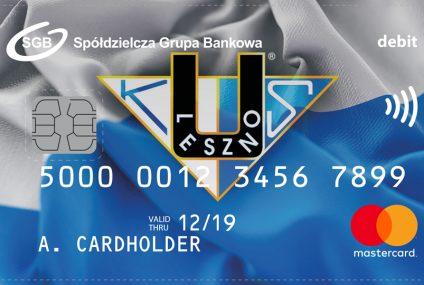 Karta Mastercard Unii Leszno w ofercie banków spółdzielczych SGB