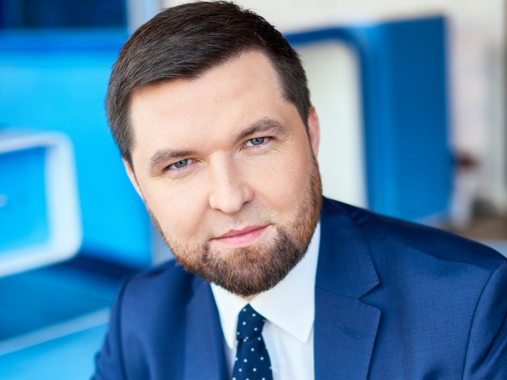 Tobiasz Bury, prezes zarządu Idea Bank