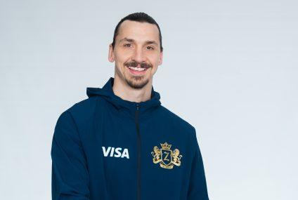 Zlatan Ibrahimović twarzą Visa w kampanii związanej z Mistrzostwami Świata FIFA 2018