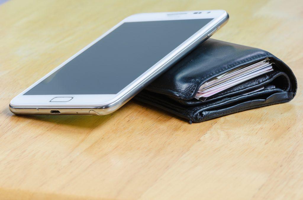 portfel telefon bankowość mobilna