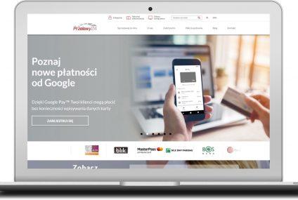 Przelewy24 wdrożyły Google Pay