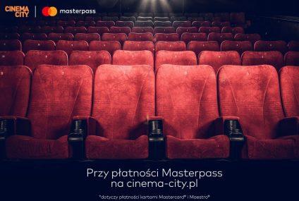Bilety do Cinema City za 10 zł przy płatności Masterpass