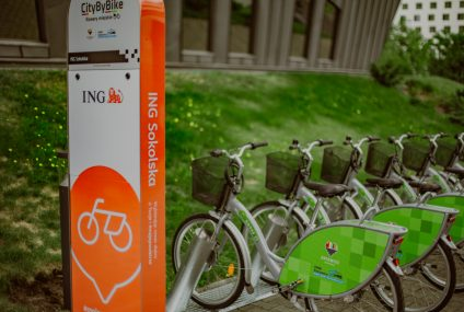 ING w City By Bike
