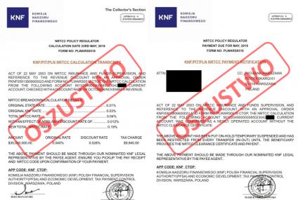 KNF ostrzega przed PKO Bank Warszawa. Firma podrobiła dokumenty i wyłudza pieniądze