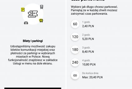 Bilety parkingowe trafiły do Mobilnego Portfela Raiffeisen Polbanku
