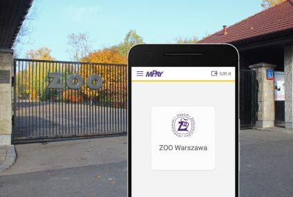 Od 21 lipca bilety do warszawskiego ZOO będzie można kupić w aplikacji mPay