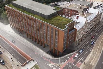 Nowy budynek PZU na Placu Dominikańskim we Wrocławiu