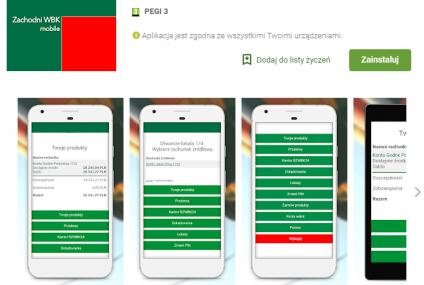 Uważajcie na kolejne aplikacje podszywające się pod BZ WBK