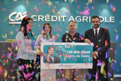 Credit Agricole sprzedał już 100 tys. Kont dla Ciebie
