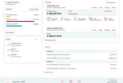 Tak wygląda bankowość internetowa i mobilna Santander Banku Polska. Zobaczcie pierwsze zdjęcia