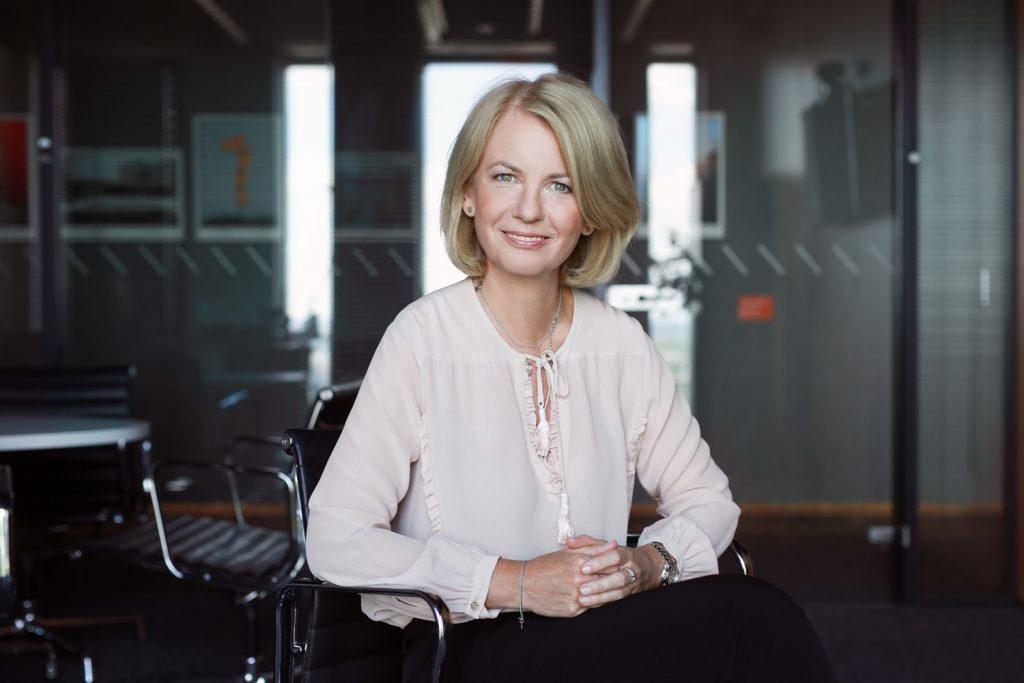 Justyna Kesler, wiceprezes zarządu ING Banku Śląskiego